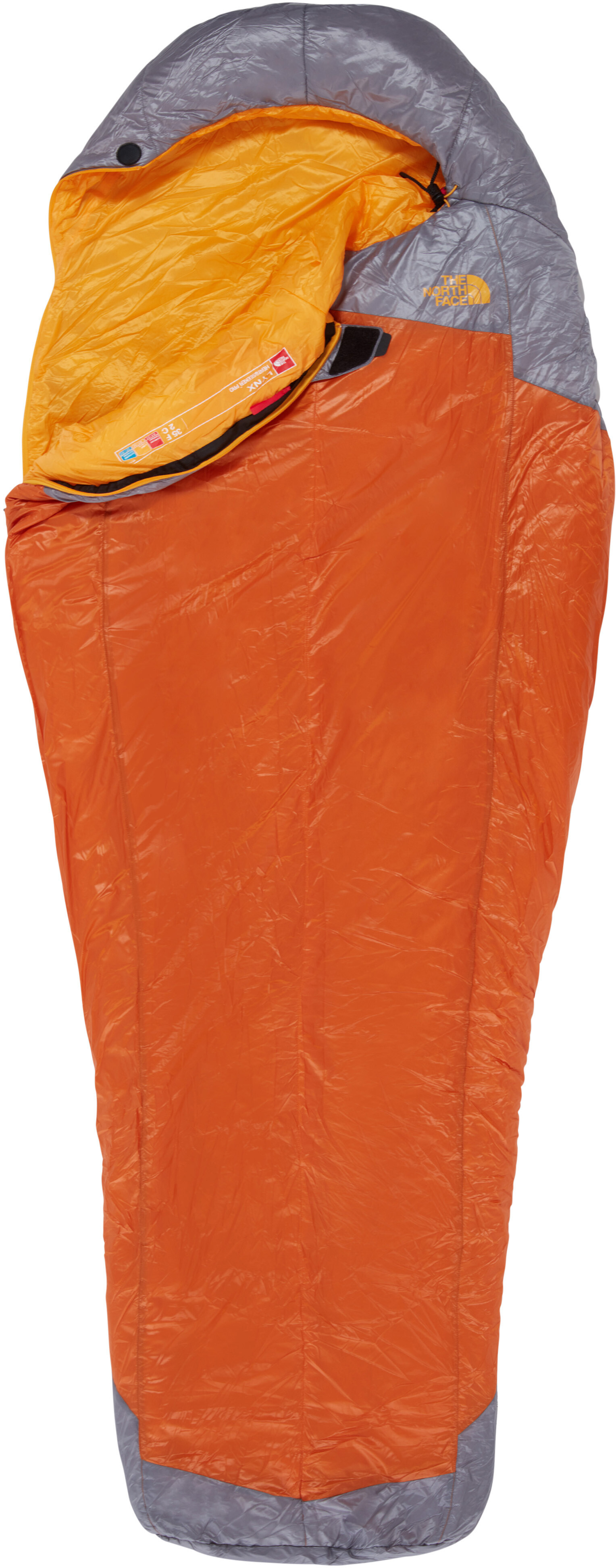 d0f7f95e7c The North Face Lynx - Sac de couchage - regular gris/orange ...